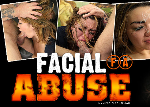 Facial Abuse Destroys Angelina Mylee